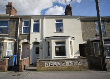 Thumbnail 3 bedroom terraced house for sale in Wollaston Road, Lowestoft