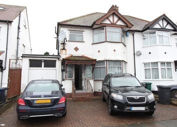 Thumbnail 3 bed semi-detached house to rent in Grove Road, Edgware