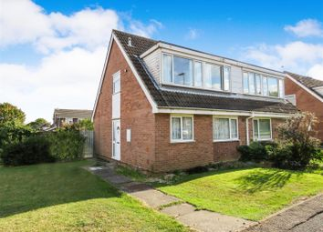 Thumbnail 3 bed property for sale in Bittern Close, St. Ives, Huntingdon