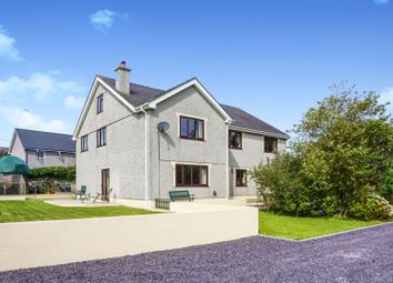 Thumbnail 5 bed detached house for sale in Off High Street, Bryngwran, Holyhead