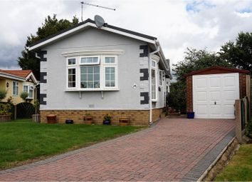 Thumbnail 2 bedroom mobile/park home for sale in Stour Park, Bournemouth