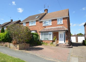 Thumbnail 3 bed semi-detached house for sale in Cedar Avenue, Hazlemere, High Wycombe