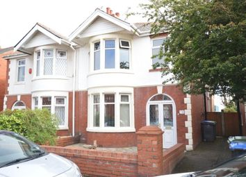 Thumbnail 3 bedroom semi-detached house for sale in Berwick Road, Blackpool