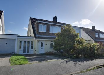 Thumbnail 3 bed semi-detached house for sale in Forthvras, Illogan Downs, Redruth, Cornwall