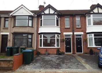 Thumbnail 3 bed terraced house for sale in Rotherham Road, Coventry, West Midlands