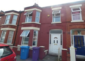 Thumbnail 4 bed terraced house to rent in Calton Avenue, Mossley Hill, Liverpool