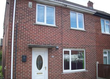 Thumbnail 2 bed semi-detached house to rent in Crossman Drive, Normanton