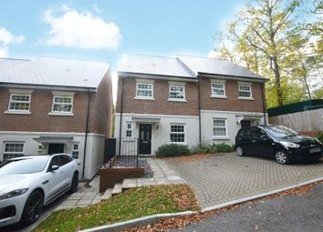 Thumbnail 3 bed semi-detached house to rent in Hillside, Camberley, Surrey