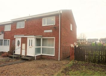 Thumbnail 2 bedroom end terrace house for sale in Wimslow Close, Wallsend