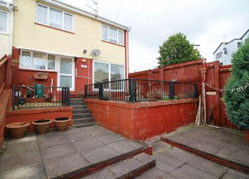 Thumbnail 2 bedroom end terrace house for sale in Wordsworth Gardens, Rhydyfelin, Pontypridd