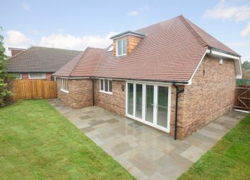 Thumbnail 4 bed detached bungalow for sale in Romany Court, Twydall, Gillingham