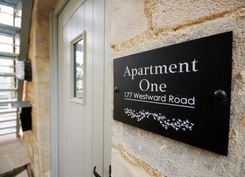 Thumbnail 2 bed flat for sale in Westward Road, Ebley, Stroud