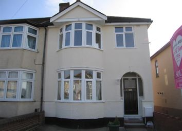 Thumbnail 3 bedroom end terrace house to rent in Hickman Road, Chadwell Hath, Romford
