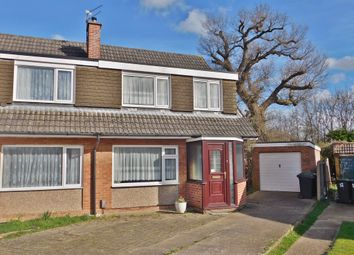 Thumbnail 3 bed semi-detached house for sale in Luard Court, Havant