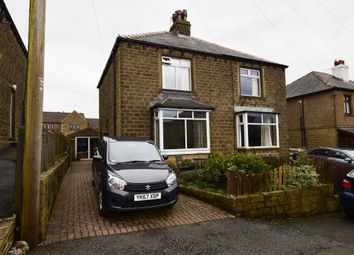 Thumbnail 2 bedroom semi-detached house for sale in Hawthorn Road, Slaithwaite, Huddersfield