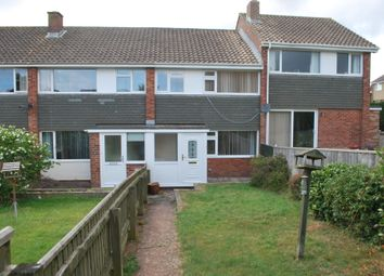 Thumbnail 3 bed terraced house to rent in Birchwood Road, Exmouth