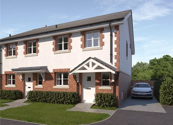 Thumbnail 3 bed semi-detached house for sale in Ash Green, West Bourton Road, Bourton, Gillingham