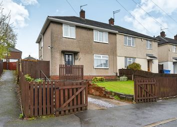 Thumbnail 3 bed semi-detached house for sale in Saltburn Close, Breadsall Hilltop, Derby