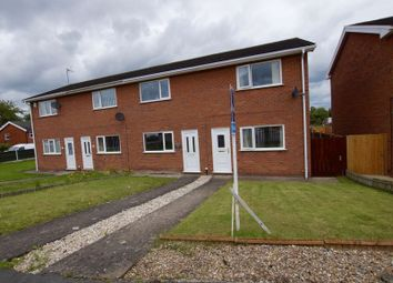 Thumbnail 2 bed terraced house for sale in Mile Barn Road, Borras, Wrexham