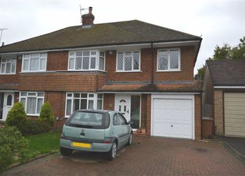 Thumbnail 4 bed semi-detached house for sale in Eastwick Crescent, Mill End, Rickmansworth, Hertfordshire