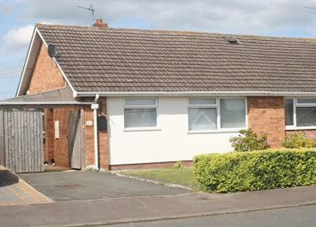 Thumbnail 2 bed semi-detached bungalow for sale in Hillview Lane, Tewkesbury