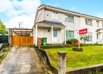 Thumbnail 3 bed semi-detached house for sale in Harewood Crescent, Honicknowle, Plymouth