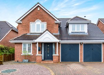 Thumbnail 4 bed detached house for sale in Peachwood Close, Gonerby Hill Foot, Grantham
