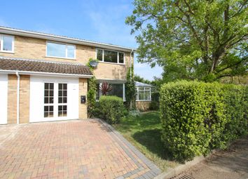 Thumbnail 3 bed semi-detached house for sale in Grange Close, Everton, Lymington, Hampshire