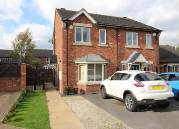 Thumbnail 2 bed semi-detached house for sale in Punton Walk, Snaith, Goole