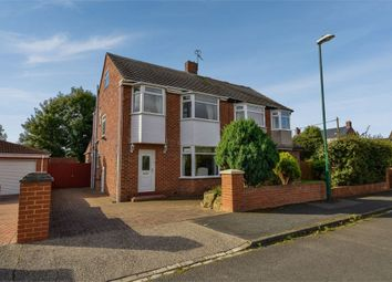 Thumbnail 3 bed semi-detached house for sale in Burdon Crescent, Cleadon, Sunderland, Tyne And Wear