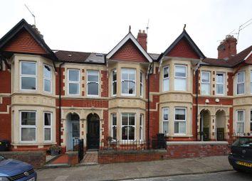 Thumbnail 4 bedroom terraced house for sale in Mafeking Road, Roath, Cardiff