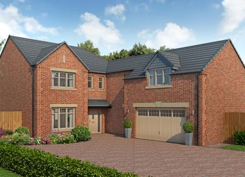 Thumbnail 5 bedroom detached house for sale in Forest Lane, Kirklevington, Yarm