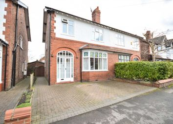 Thumbnail 3 bed semi-detached house for sale in Maple Road, Bramhall, Stockport