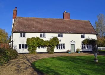 Thumbnail 7 bed farmhouse for sale in Mendlesham, Stowmarket, Suffolk