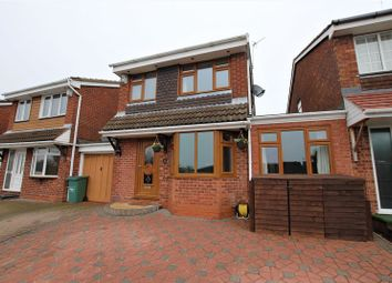 Thumbnail 3 bed detached house for sale in Littleworth Road, Hednesford, Cannock