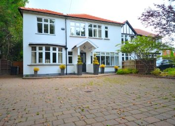 Thumbnail 5 bed semi-detached house to rent in Adlington Road, Wilmslow