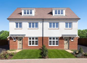 "Thumbnail 4 bed semi-detached house for sale in ""York"" at Begbrook Park, Frenchay, Bristol"