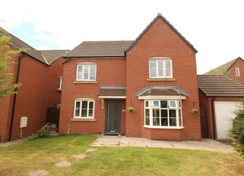 Thumbnail 4 bed detached house for sale in Woodland View, Wesham, Preston