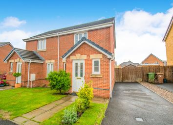 Thumbnail 2 bed semi-detached house for sale in Ffordd Y Maes, Caerphilly