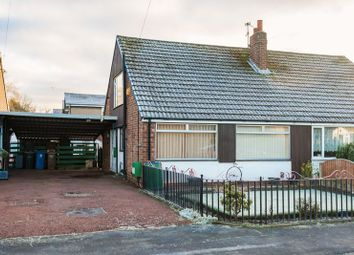 Thumbnail 2 bed semi-detached bungalow for sale in Highways Avenue, Euxton, Chorley