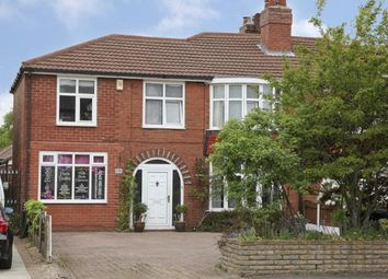 Thumbnail 4 bed semi-detached house for sale in Carrington Lane, Sale, Greater Manchester