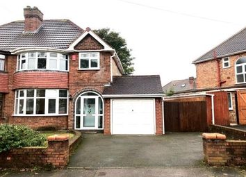 Thumbnail 3 bed property to rent in Heathmere Avenue, Yardley, Birmingham