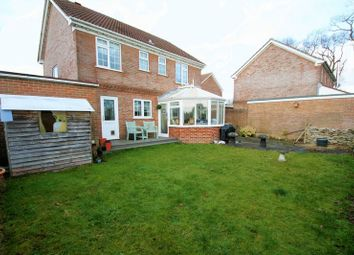 Thumbnail 4 bedroom detached house for sale in The Poplars, Waltham Chase, Southampton