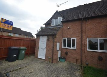 Thumbnail 2 bed end terrace house to rent in Deerhurst Place, Quedgeley, Gloucester