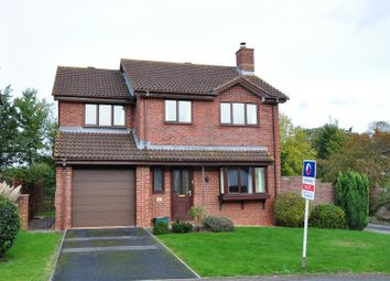 Thumbnail 4 bed detached house to rent in Pinn Valley Road, Pinhoe, Exeter