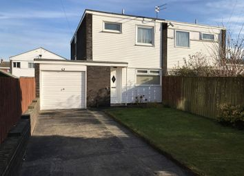 Thumbnail 3 bed semi-detached house for sale in Hedley Close, South Shields