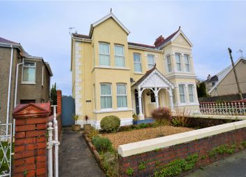 Thumbnail Semi-detached house for sale in Stradey Park Avenue, Llanelli
