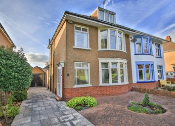 Thumbnail 4 bed semi-detached house for sale in King George V Drive West, Heath, Cardiff