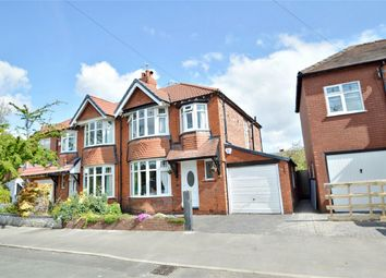 Thumbnail 3 bed semi-detached house for sale in Edmonton Road, Woodsmoor, Stockport, Cheshire