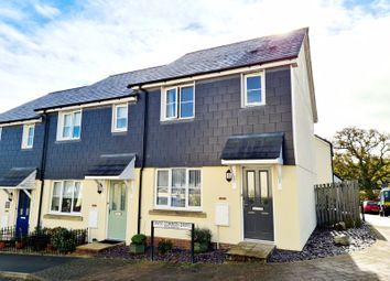 Thumbnail 3 bed end terrace house for sale in Haye Common Drive, Launceston